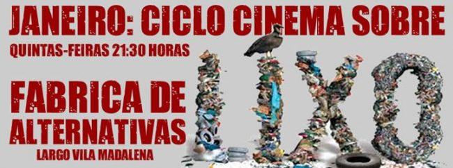 Ciclo Cinema - Janeiro 2014 - Lixo