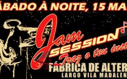 15MAR2014 - Jam session (Primeira sessão)
