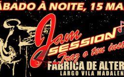 15MAR2014 - Jam session (Primeira sessão)