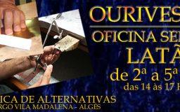 2JUN2014 - OFICINA DE OURIVESARIA - Latão