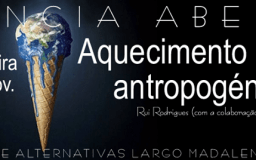 26NOV2014 - Ciência Aberta - Aquecimento global antropogénico