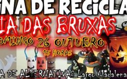 26OUT2014 - Oficina de Reciclagem - Dia das Bruxas