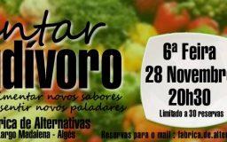 28NOV2014 - Jantar Crudivoro