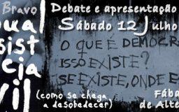12JUL2014 - Manual de Resistência Civil (como se chega a desobedecer), do Pedro Bravo