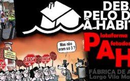 20JUN2014 - Pelo Direito à Habitação (com a presença de elementos da PAH)