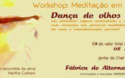 8NOV2014 - Dança de olhos vendados - Meditação em Movimento