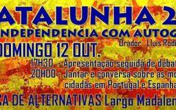 12OUT2014 - Catalunha: Independência com Auto-gestão
