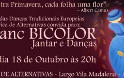 18OUT2014 - JanDanc BICOLOR - Jantar e Danças