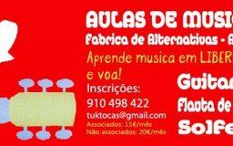 1NOV2014 - Oficina de Guitarra, flauta e solfejo