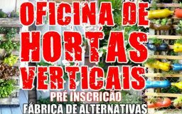 15NOV2014 - Oficina de Hortas Verticais
