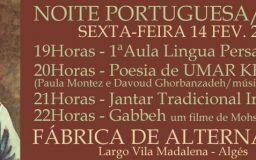 14FEV2014 - Noite Portuguesa/Persa