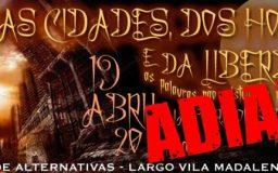 19ABR2014 - DAS CIDADES, DOS HOMENS E DA LIBERDADE