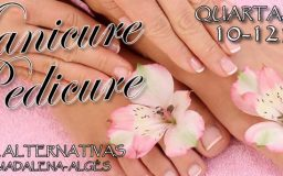 4JUN2014 - Manicure e Pedicure