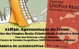 17FEV2017 - Apresentação do Livro - Atlas das Utopias Reais: Criatividade, Cultura e Artes