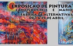 ABR2016 - Exposição Pintura de Carlos dos Reis e Mário Salgado
