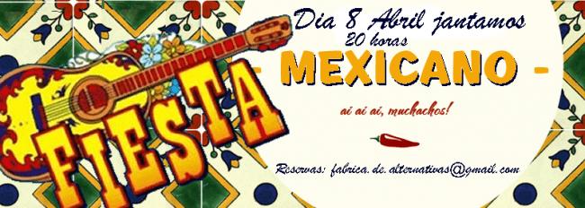 8ABR2017 - Jantar Mexicano