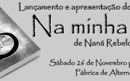 26NOV2016 - Lançamento do livro de poemas da Naná Rebelo,
