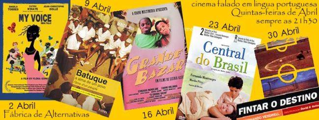 ABR 2015- Cinema - Abril - cinema falado em lingua portuguesa