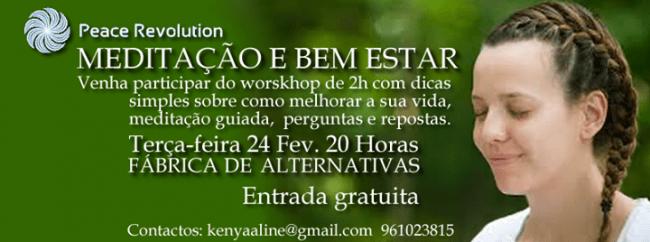 24FEV2015 - MEDITAÇÃO E BEM-ESTAR