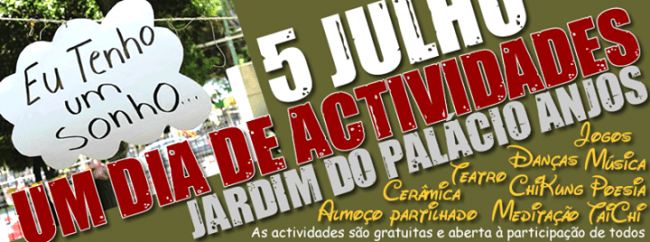 5JUL2015 - Dia de actividades no Jardim