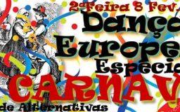 8FEV2016 - Danças Tradicionais Europeias - Especial Carnaval