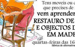 30MAR2016 - Restauro de móveis e objectos em Madeira