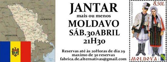 30ABR2016 - Jantar mais ou menos Moldavo