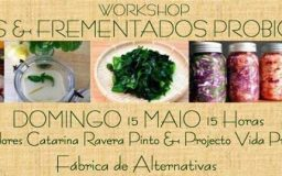 15MAI2016 - Algas & Fermentados probióticos - Workshop