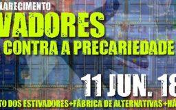 11JUN2016 - Debate - Estivadores em luta contra a precariedade