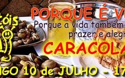 10JUL2016 - Quem gosta de Caracóis