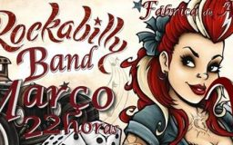 7MAR2015 - Rockabilly Band ao Vivo