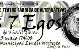 23MAI201 - Teatro - Os 7 Egos de Khalil Gibran