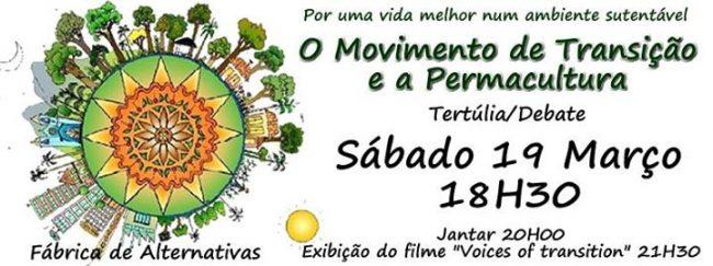 19MAR2016 - Movimento de Transição e Permacultura