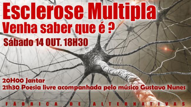 14 Outubro 2017 Esclerose Múltipla, dar a conhecer.