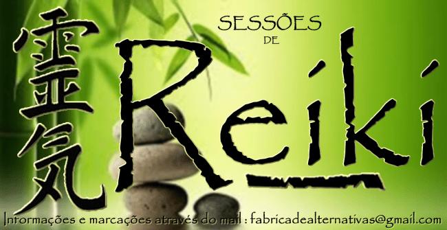 Sessão de Reiki