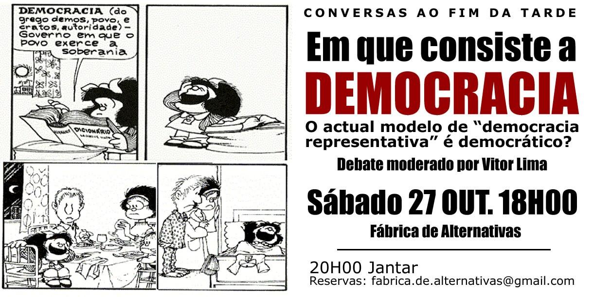 Em que consiste a democracia?