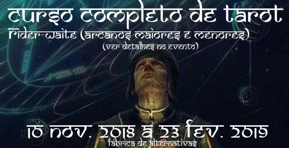 curso TAROT 10NOV18 23FEV19