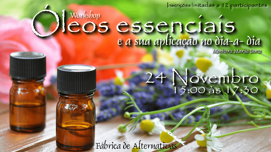 Workshop de Óleos Essenciais