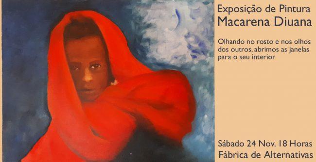 Exposição de pintura deMACARENA DIUANA
