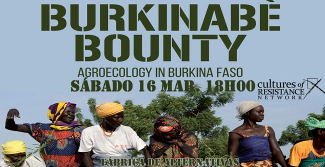 Burkinabé Bounty - Documentário e debate