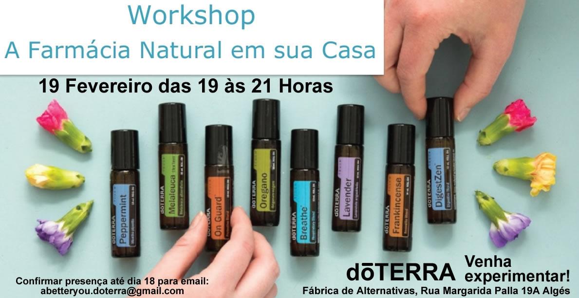 Workshop - A Farmácia Natural em sua Casa