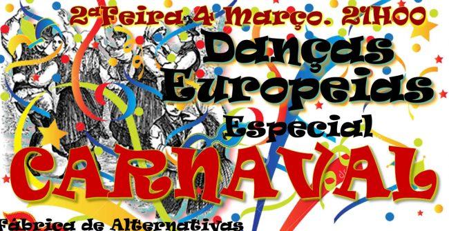 Danças Europeias e Carnaval