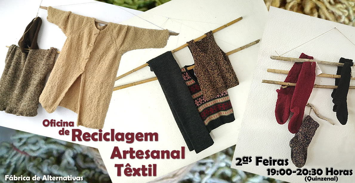 Reciclagem Artesanal Têxtil