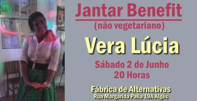 Jantar Benefit Vera Lúcia
